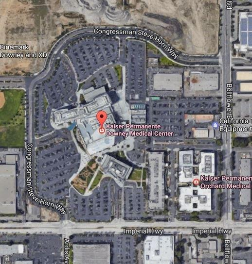 Kaiser Locations California Map.Kaiser Permanente Downey Medical Office J M Concrete Contractors